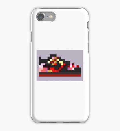 8-bit Kicks (Pushead) iPhone Case/Skin