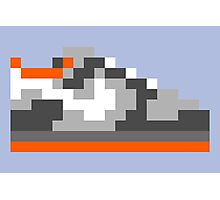 8-bit Kicks (Pigeon) Photographic Print