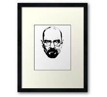 Walter White & Black Framed Print