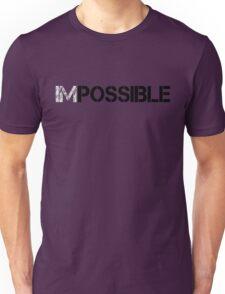 WORKOUT MOTIVATION 1 BLACK Unisex T-Shirt