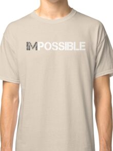 WORKOUT MOTIVATION 1 WHITE Classic T-Shirt