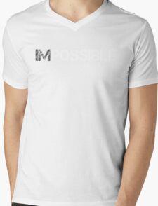 WORKOUT MOTIVATION 1 WHITE Mens V-Neck T-Shirt