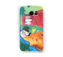Parrots Love Birds Kiss - Horizontal - Samsung Samsung Galaxy Case/Skin