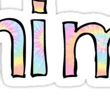 Phi Mu Tie Dye Sticker