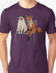 Grumpy Cat and Fox T-Shirt