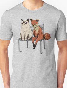 Grumpy Cat and Fox T-Shirt