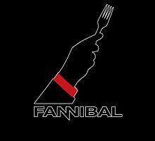 Fannibal Fork - black by JennK777