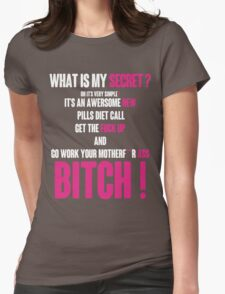 WHAT IS MY SECRET ? WHITE&PINK T-Shirt