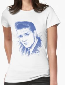 ELVIS PRESLEY - TCB Womens Fitted T-Shirt