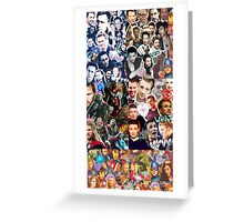 The avengers collage Greeting Card
