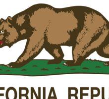 California Republic Flag Sticker