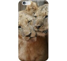 Lion Cubs in South Africa iPhone Case/Skin