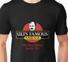 Uli's Famous Sausage, Seattle, Pike Place Market Unisex T-Shirt