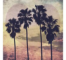 Heart and Palms Photographic Print
