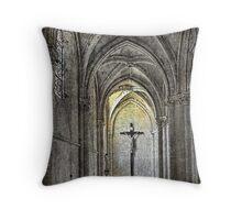 The Light of Salvation  Throw Pillow
