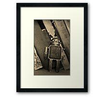 Old Robot Framed Print
