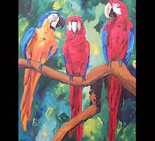 Parrot Trio: The Three Amigos - Samsung by PhoneCase