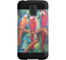 Parrot Trio: The Three Amigos - Samsung Samsung Galaxy Case/Skin