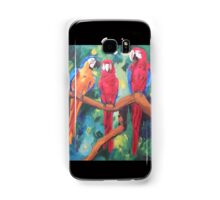 Parrot Trio: The Three Amigos - Samsung Samsung Galaxy Case/Skin