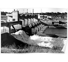 Red River Dam Poster
