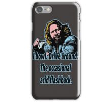 Big Lebowski 18 iPhone Case/Skin