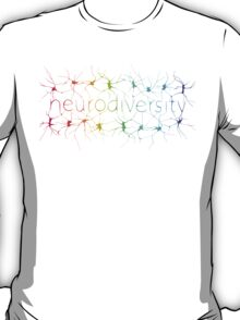 Neuron Diversity - Alternative Rainbow T-Shirt