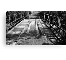 Wood and Metal Bridge 1 Canvas Print
