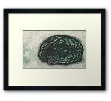 """""""Turned"""" brains Framed Print"""
