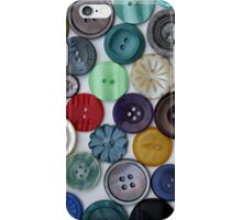 Multi-coloured Button Phone Case iPhone Case/Skin
