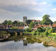 St. Peter and St. Paul's Church Aylesford  by larry flewers