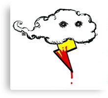 Murder Cloud Canvas Print