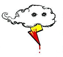 Murder Cloud Photographic Print
