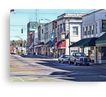 The Fictional Town Of Mayberry Canvas Print