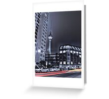 Fernsehturm in Berlin bei Nacht ( TV tower at night ) Greeting Card