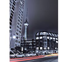 Fernsehturm in Berlin bei Nacht ( TV tower at night ) Photographic Print