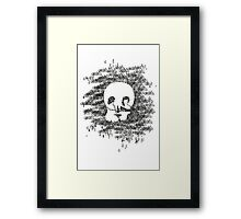 Vanity and Booze Framed Print