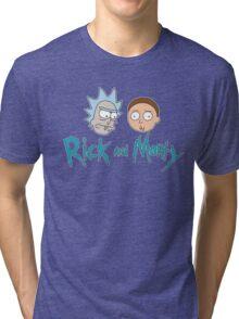 Rick n Morty  Tri-blend T-Shirt