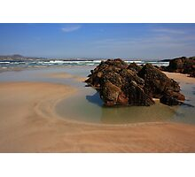 Beach At Ards Forest Park Photographic Print
