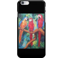 Parrot Trio: The Three Amigos - iPhone iPod iPad iPhone Case/Skin