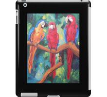 Parrot Trio: The Three Amigos - iPhone iPod iPad iPad Case/Skin