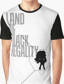 4 Lands - Black Graphic T-Shirt