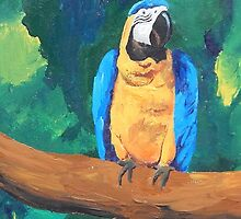 Blue Yellow Macaw Parrot - Samsung by PhoneCase