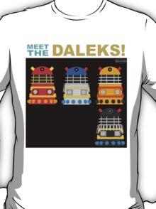 Meet the Daleks T-Shirt