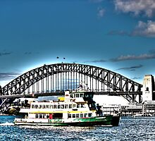 Sydney Harbour Ferry HDR by jasonkryger