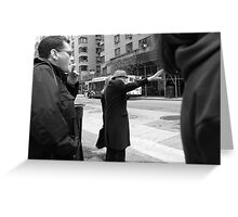 New York Street Photography 16 Greeting Card