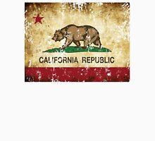 California Republic Flag Rustic  Unisex T-Shirt