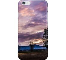 Glen Park Sunset iPhone Case/Skin