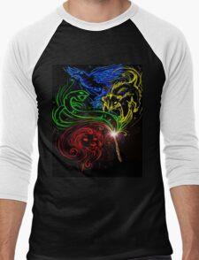 Harry Potter Hogwarts Houses Men's Baseball ¾ T-Shirt