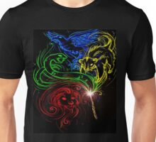 Harry Potter Hogwarts Houses Unisex T-Shirt