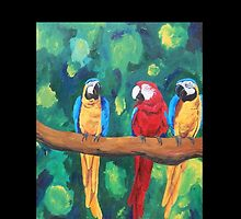 Parrot Talk - iPhone iPod iPad  by PhoneCase